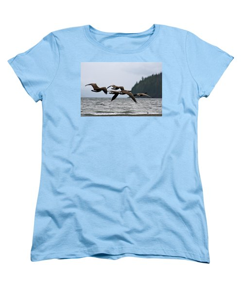 Women's T-Shirt (Standard Cut) featuring the photograph Heading South by Cathie Douglas