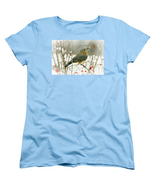 Hearts Desire Women's T-Shirt (Standard Cut) by Barbara S Nickerson