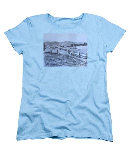 Hearts Desire Beach Women's T-Shirt (Standard Cut)