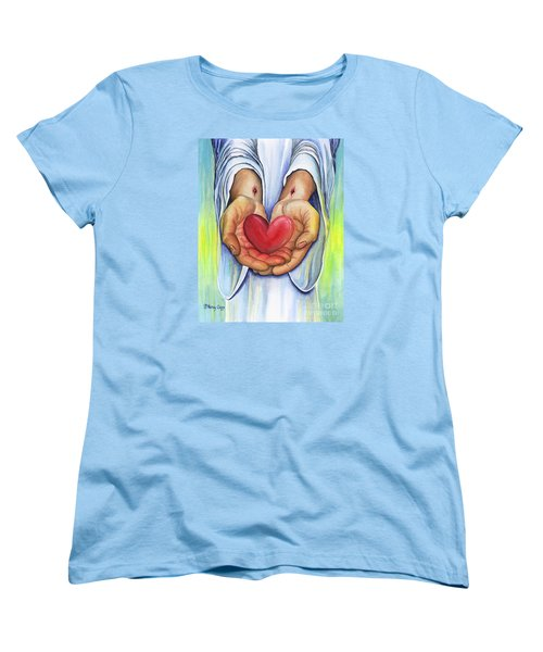 Heart's Desire Women's T-Shirt (Standard Cut) by Nancy Cupp