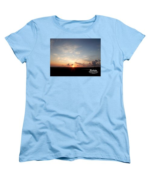 Women's T-Shirt (Standard Cut) featuring the photograph Hearts In The Distance by Barbara Tristan