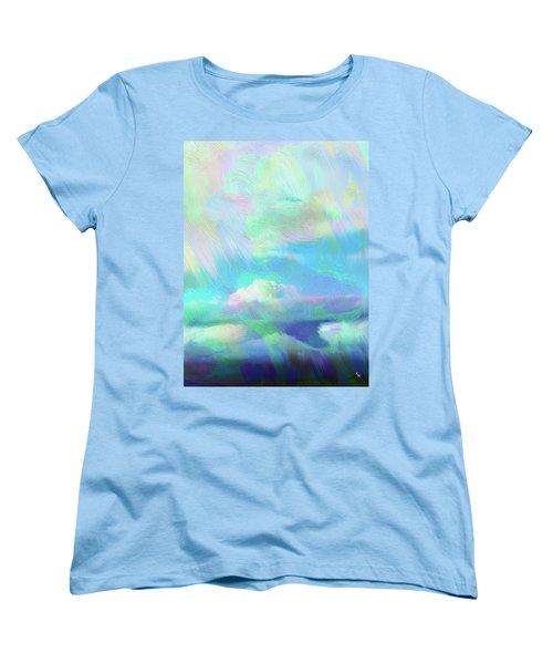 Heaven Women's T-Shirt (Standard Cut) by Karen Nicholson