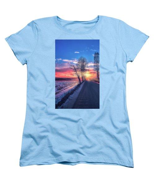 Heavenly Journey Women's T-Shirt (Standard Cut) by Rose-Marie Karlsen