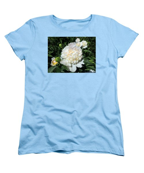 Women's T-Shirt (Standard Cut) featuring the photograph Heavenly White by Teresa Schomig