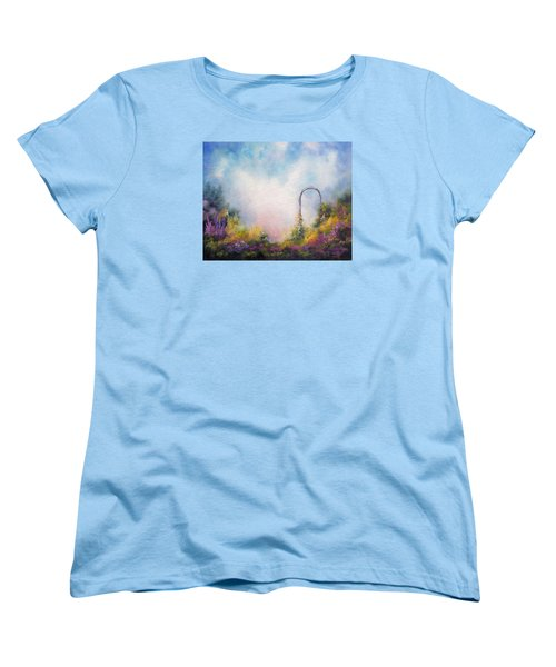 Heaven's Gate Women's T-Shirt (Standard Cut) by Marina Petro