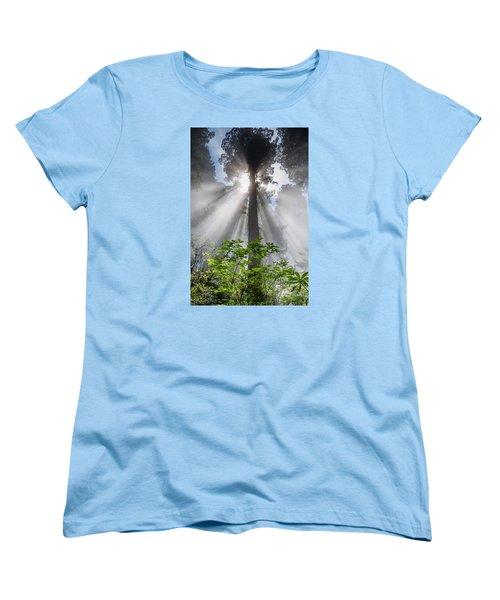 Heaven's Light Women's T-Shirt (Standard Cut) by Greg Nyquist
