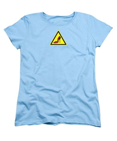Heels Hazard Women's T-Shirt (Standard Cut)