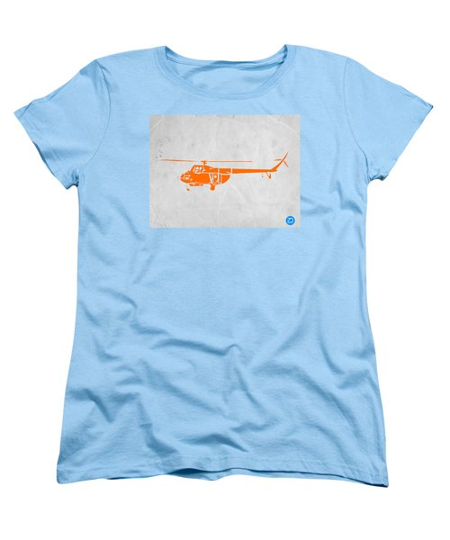 Helicopter Women's T-Shirt (Standard Cut) by Naxart Studio
