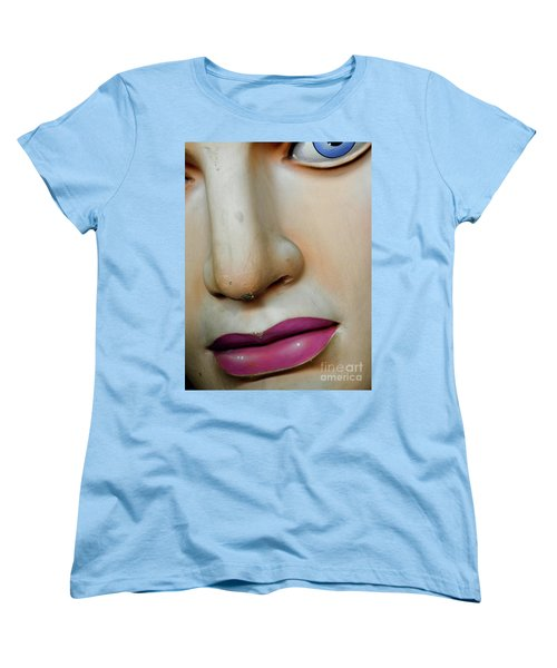 Women's T-Shirt (Standard Cut) featuring the photograph Her Face by Valerie Reeves