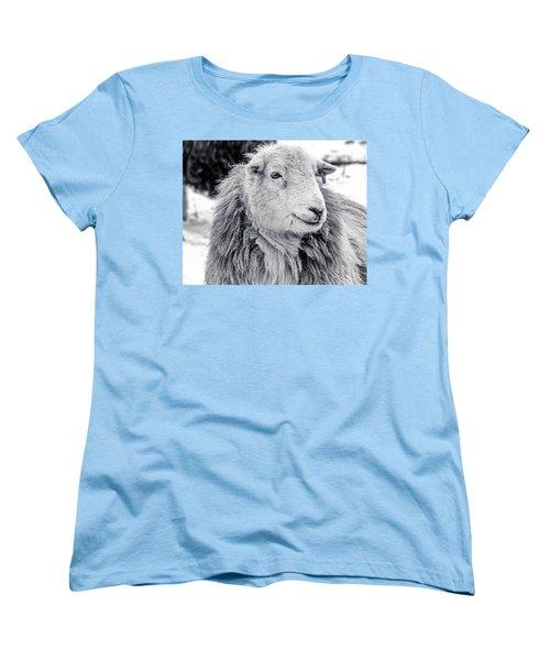 Herdwick Sheep Women's T-Shirt (Standard Cut) by Keith Elliott