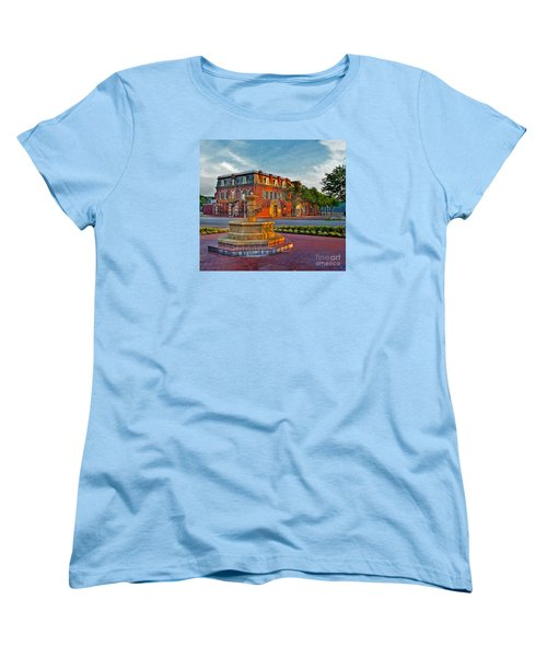 Hermannhof Festhalle Women's T-Shirt (Standard Cut) by William Fields