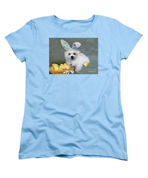 Hermes At Easter Women's T-Shirt (Standard Cut) by Morag Bates