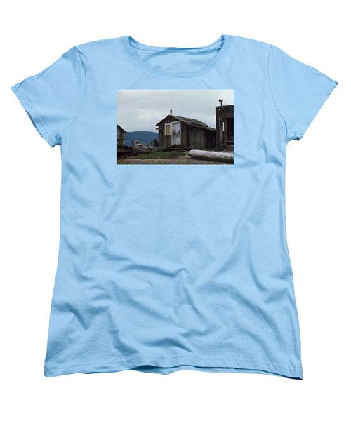 Women's T-Shirt (Standard Cut) featuring the photograph Hermit by Laurie Stewart
