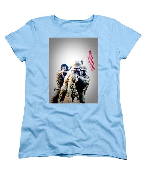 Heroes Women's T-Shirt (Standard Cut) by Julie Niemela