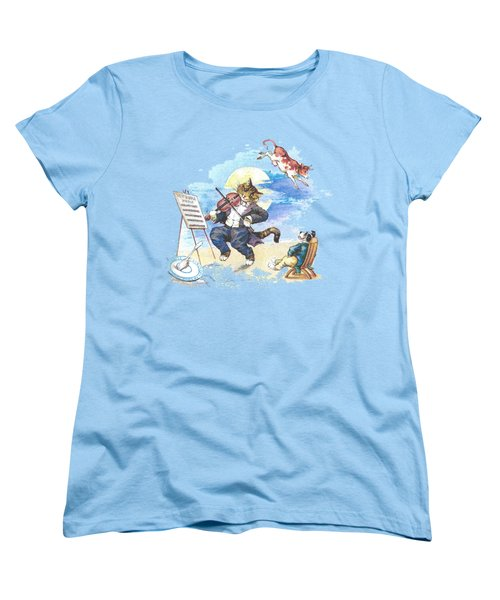 Hi Diddle Diddle T-shirt Women's T-Shirt (Standard Cut) by Herb Strobino