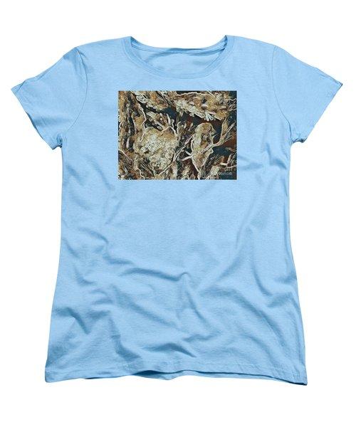 Hidden In Plain Sight Women's T-Shirt (Standard Cut) by Kathie Chicoine