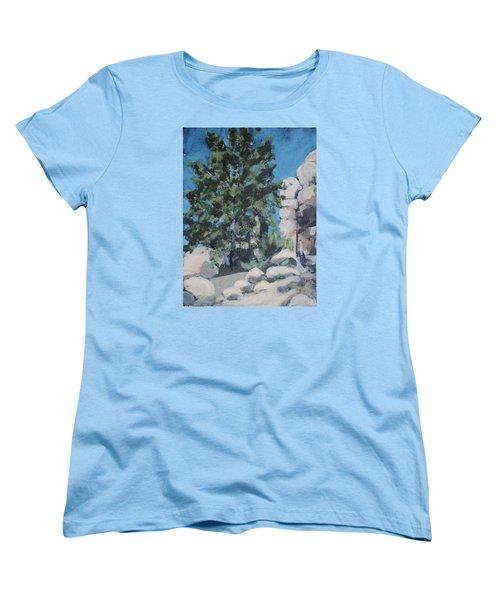 Hidden Valley Women's T-Shirt (Standard Cut) by Richard Willson