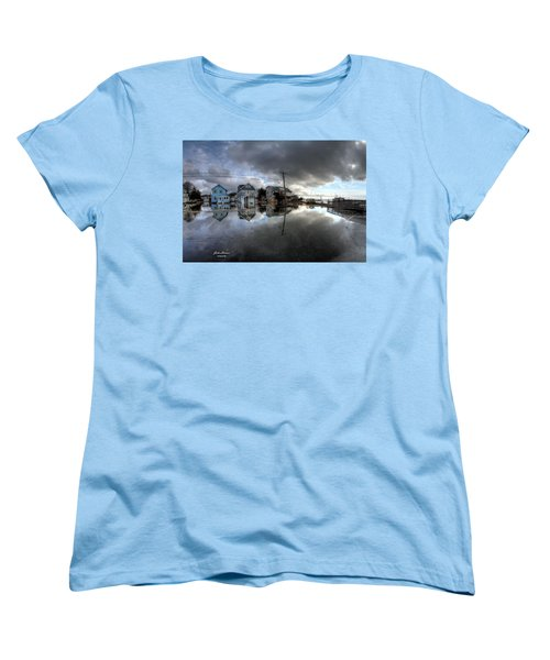 Higbee Flooding Women's T-Shirt (Standard Cut) by John Loreaux