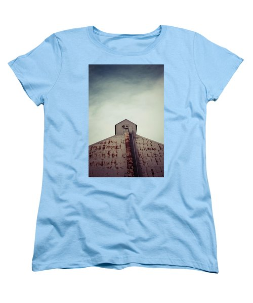 Women's T-Shirt (Standard Cut) featuring the photograph High View by Trish Mistric