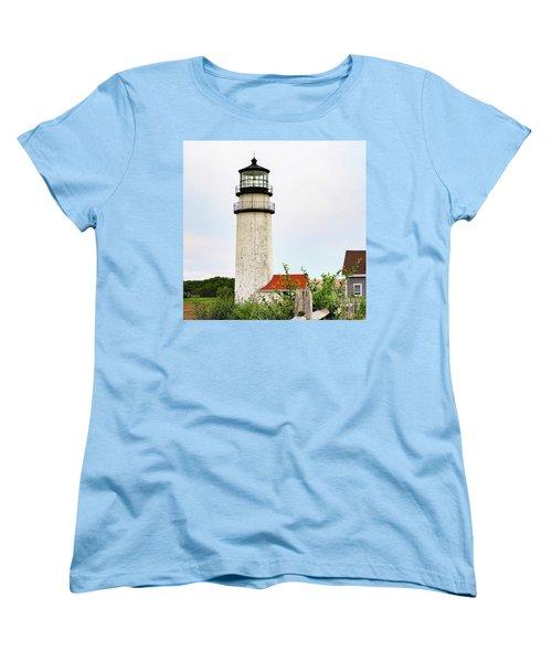 Women's T-Shirt (Standard Cut) featuring the photograph Highland Lighthouse II by Marianne Campolongo