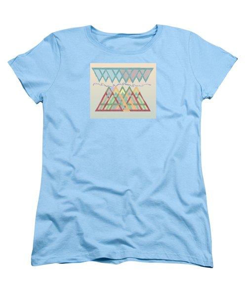 Women's T-Shirt (Standard Cut) featuring the digital art Highlands Anvil by Deborah Smith