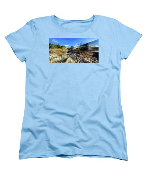 Hill Country Back Road Long Exposure #2 Women's T-Shirt (Standard Cut) by Micah Goff