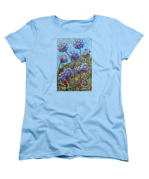 Hillside Blues Women's T-Shirt (Standard Cut)