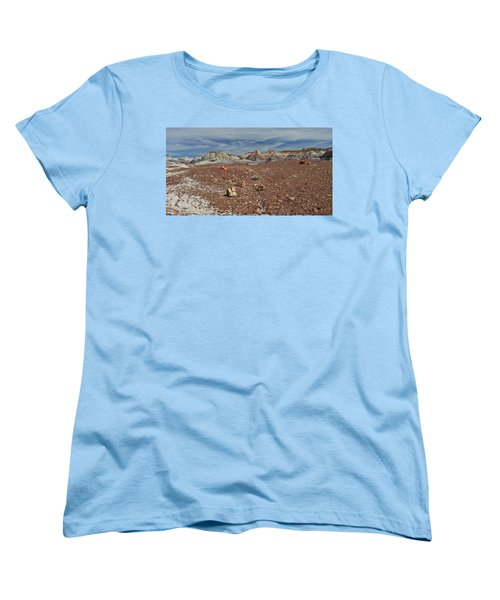 Women's T-Shirt (Standard Cut) featuring the photograph Hillside Hues by Gary Kaylor