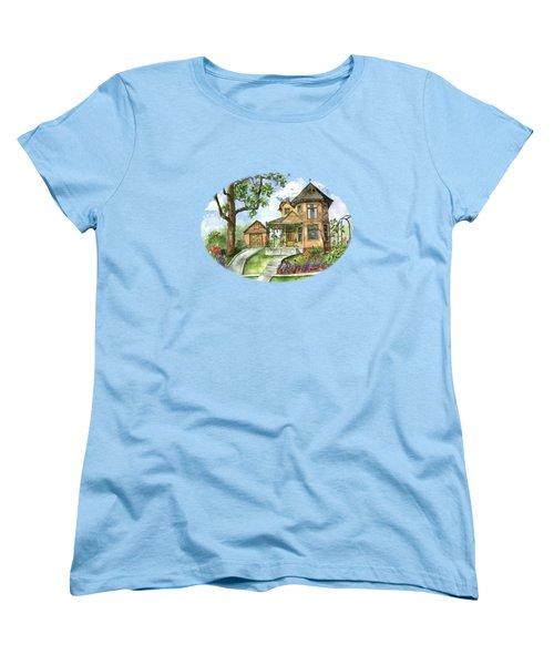 Hilltop Home Women's T-Shirt (Standard Cut) by Shelley Wallace Ylst