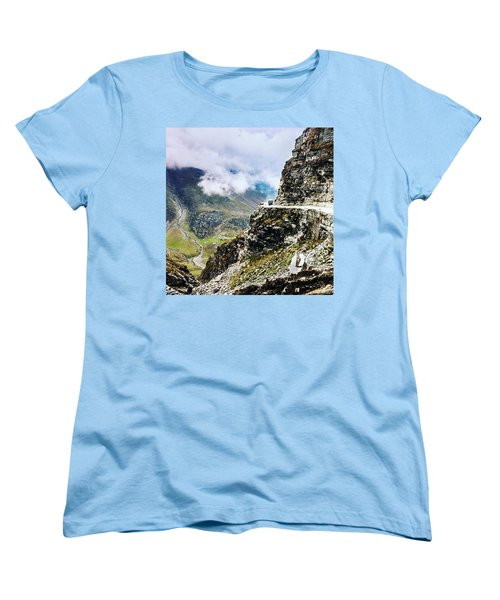 Himalayan Roads Are Good For Your Women's T-Shirt (Standard Cut)