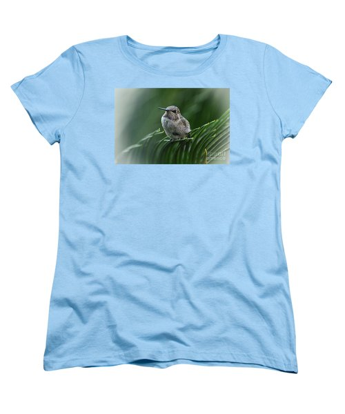 Hint Of Purple Women's T-Shirt (Standard Cut) by Debby Pueschel