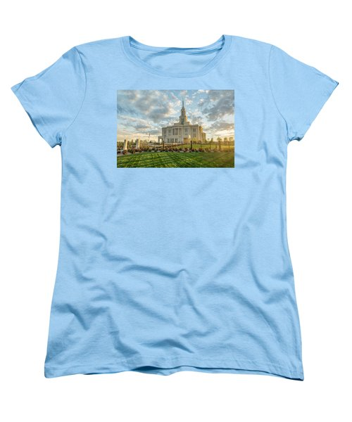 His Light Women's T-Shirt (Standard Cut) by Dustin  LeFevre