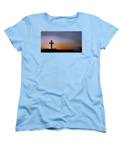 Women's T-Shirt (Standard Cut) featuring the photograph His Promise by Benanne Stiens
