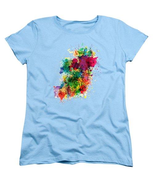 Hodge Podge T-shirt Women's T-Shirt (Standard Cut) by Herb Strobino