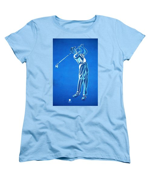 Women's T-Shirt (Standard Cut) featuring the photograph Hole In One ... by Juergen Weiss