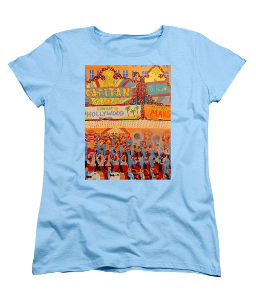 Hollywood Parade Women's T-Shirt (Standard Cut) by Rodger Ellingson