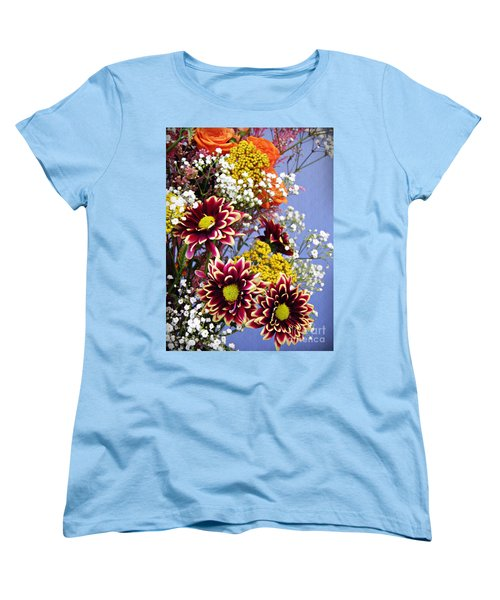 Women's T-Shirt (Standard Cut) featuring the photograph Holy Week Flowers 2017 4 by Sarah Loft