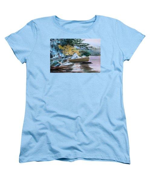 Homage To Winslow Homer Women's T-Shirt (Standard Cut) by Mindy Newman