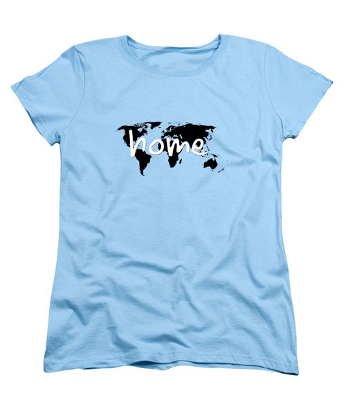 Home 2 Women's T-Shirt (Standard Cut) by Paulette B Wright