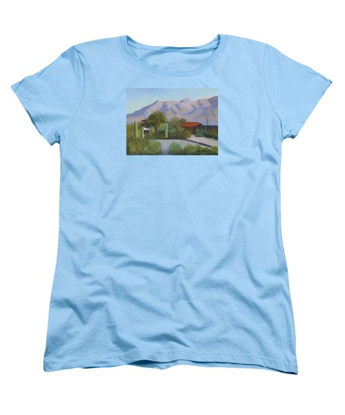 Home In The Catalinas Women's T-Shirt (Standard Cut) by Susan Woodward