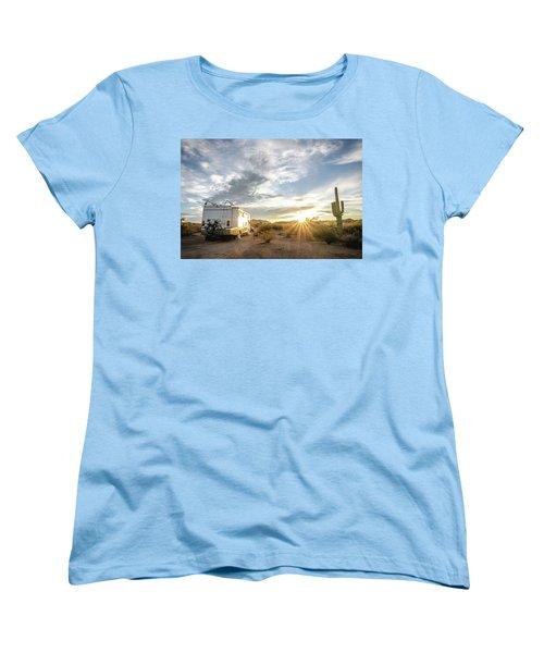 Home In The Desert Women's T-Shirt (Standard Cut)