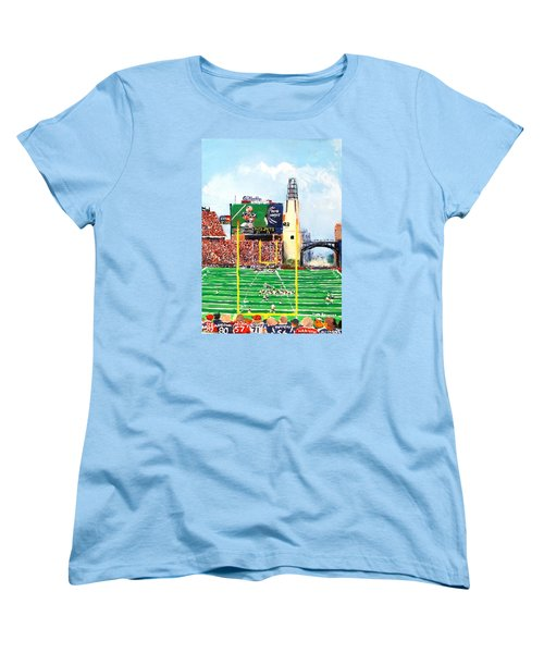 Home Of The Pats Women's T-Shirt (Standard Cut) by Jack Skinner