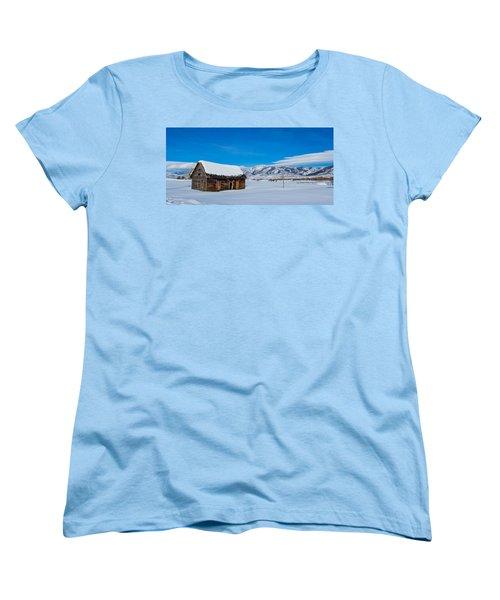 Homestead Women's T-Shirt (Standard Cut) by Sean Allen