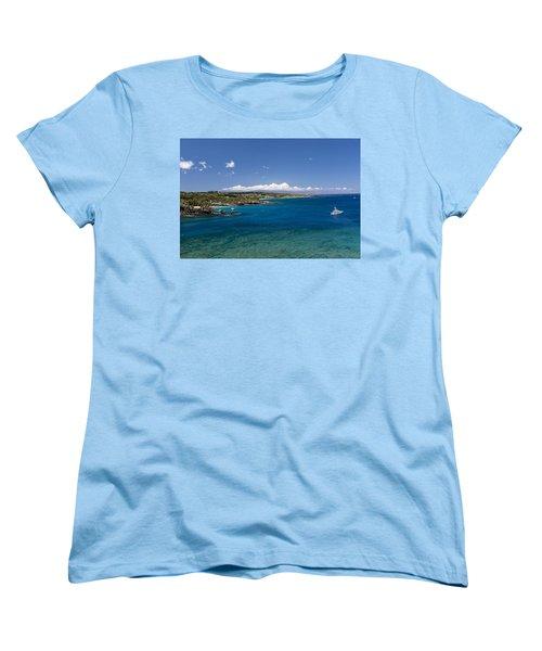 Honolua Bay Women's T-Shirt (Standard Cut) by Jim Thompson