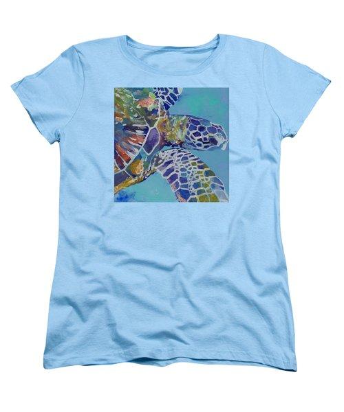 Honu Women's T-Shirt (Standard Cut) by Marionette Taboniar