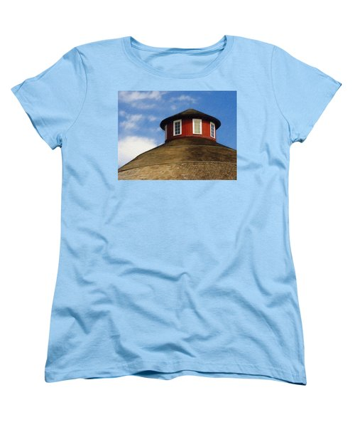 Women's T-Shirt (Standard Cut) featuring the photograph Hoosier Cupola by Sandy MacGowan