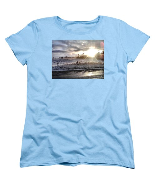 Women's T-Shirt (Standard Cut) featuring the photograph Hope  by Rory Sagner