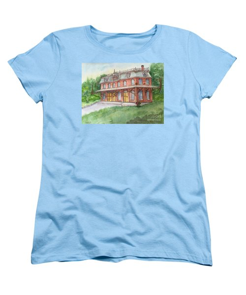 Hopewell Nj Train Station Women's T-Shirt (Standard Cut) by Lucia Grilletto