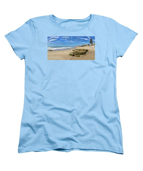 Women's T-Shirt (Standard Cut) featuring the photograph Horseshoes by Peter Tellone