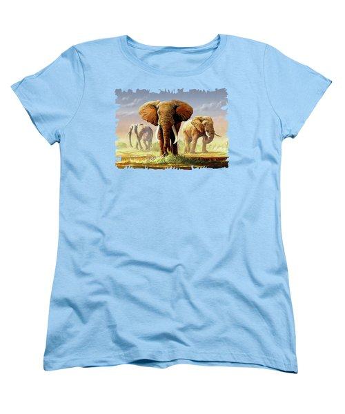 Hot Mara Afternoon Women's T-Shirt (Standard Cut) by Anthony Mwangi